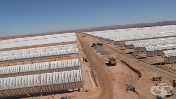 В Сахара откриха една от най-големите слънчеви централи в света  - изображение