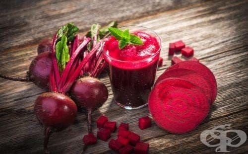 Сок от цвекло намалява кръвното налягане и риска от..