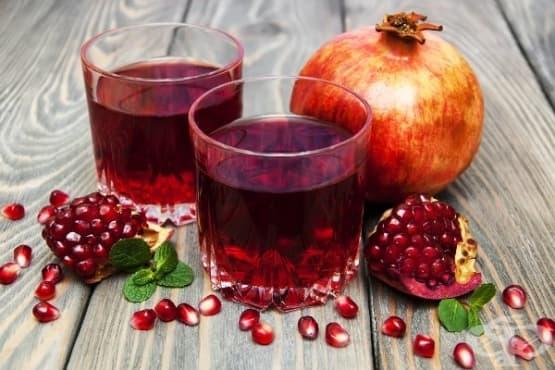 Консумацията на сок от нар от бременни жени подпомага развитието на мозъка на плода - изображение