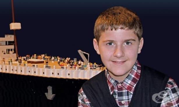 """Момчето с аутизъм, което построи """"Титаник"""" - изображение"""
