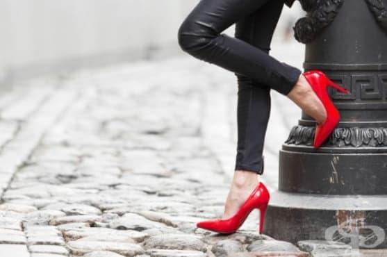 Стилните обувки на ток може да са причина за рак - изображение