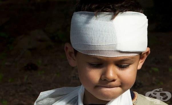 Увреждане на мозъка след травма може да доведе до дефицит на вниманието и хиперактивност при децата - изображение