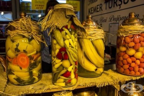 Туршиите и техните ползи за здравето на човек - изображение