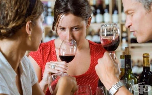 Виното предизвиква мозъка да работи усилено и да анализира - изображение