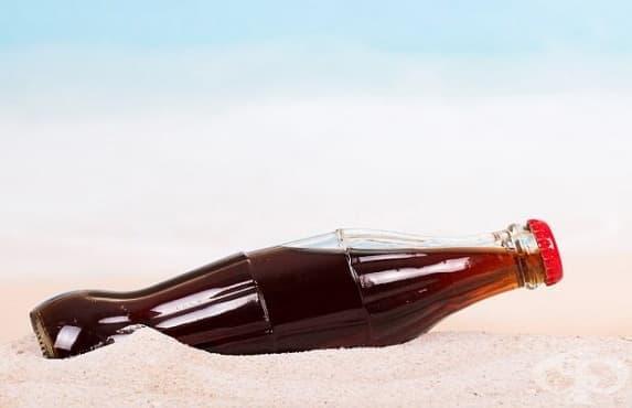 Загарът с газирани напитки може да предизвика кожни проблеми - изображение