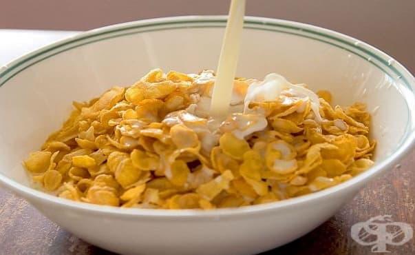 Мляко и зърнена закуска сутрин поддържат кръвната захар в норма и засищат - изображение