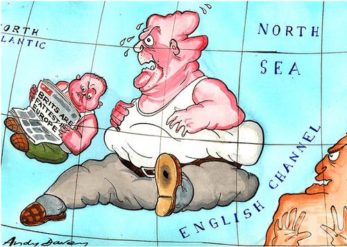 Защо във Великобритания напълняваме неусетно, сякаш ей така - от въздуха? - изображение