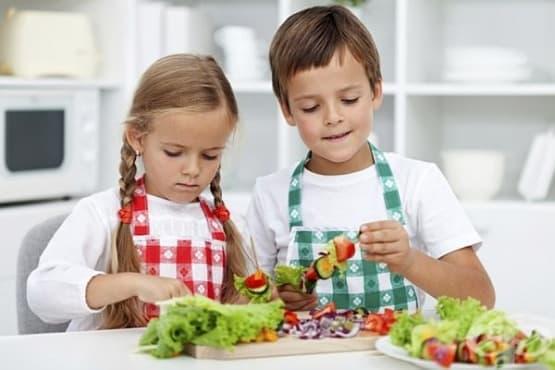 Плодовете и зеленчуците осигуряват психическа стабилност при децата - изображение