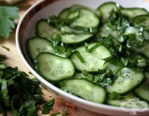 Едноседмична диета с краставици и пълнозърнест хляб - изображение