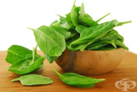 Седемдневна диета със спанак - изображение