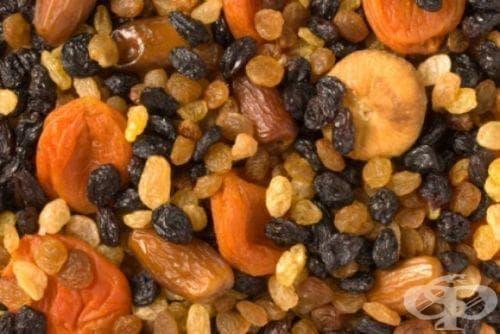5-дневна диета с ядки и сушени плодове - изображение