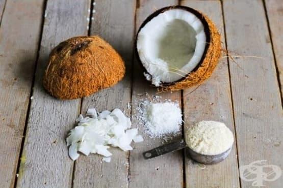 Разтоварващ ден с кокос - изображение