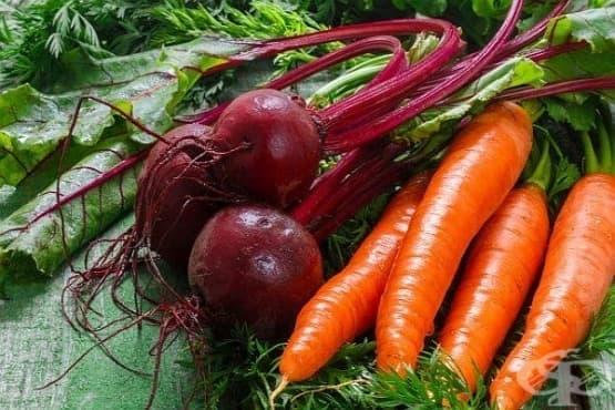 Диета за отслабване с моркови и цвекло - изображение