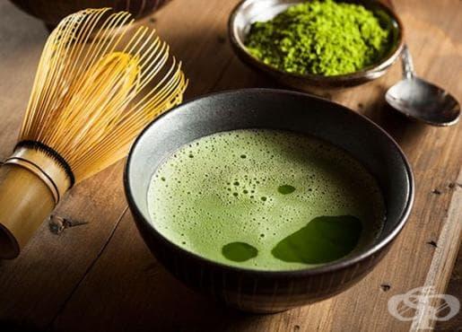 Чай матча в борбата с излишните килограми - изображение