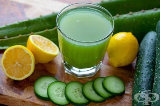 Зелен коктейл за тънка талия - изображение
