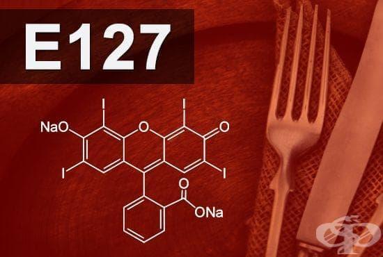 E127 - Еритрозин (Erythrosine) - изображение