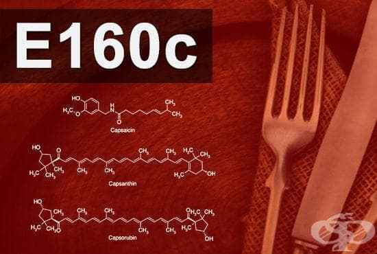E160(c) - Екстракт паприка, капсантин, капсорубин (Paprika extract, capsanthin, capsorubin) - изображение