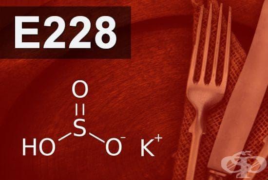 E228 - Калиев хидро сулфит (Potassium hydrogen sulphite) - изображение