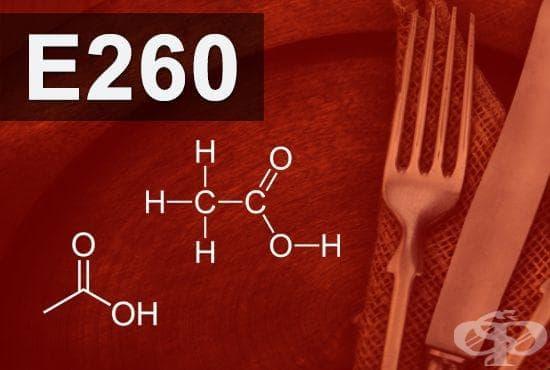 E260 - Оцетна киселина (Acetic acid) - изображение