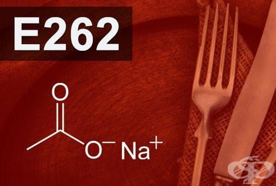 E262 - Натриев ацетат, Натриев диацетат (Sodium acetate, Sodium diacetate) - изображение