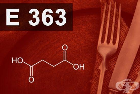 E363 - Янтарна киселина (Succinic acid) - изображение