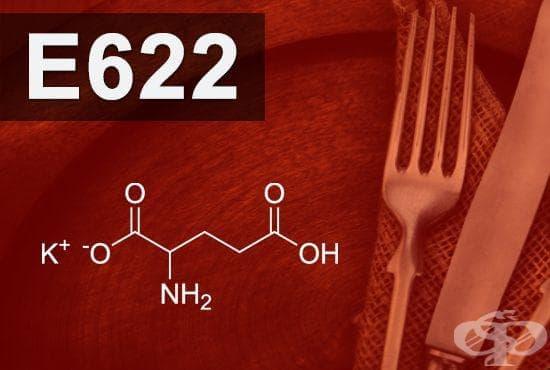 E622 - Монокалиев глутамат (Monopotassium glutamate) - изображение