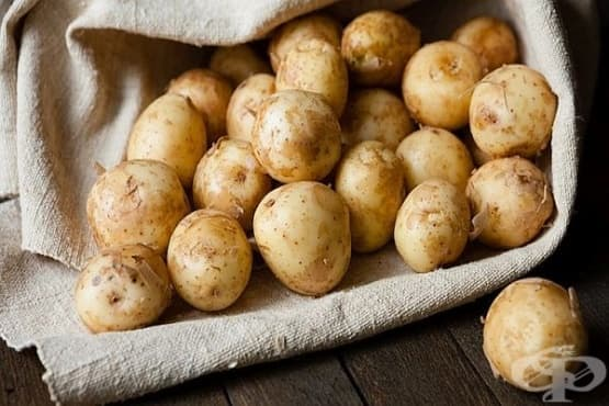 Пресни картофи - изображение