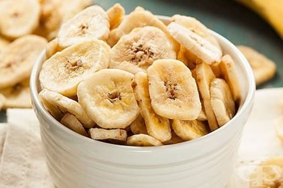 Сушени банани (бананов чипс) - изображение