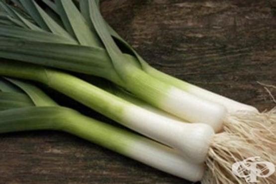 Праз лук - състав и полезни свойства - изображение