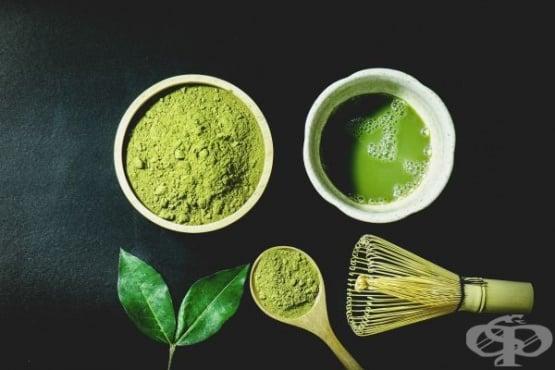 Матча - зелен чай на прах с множество ползи за здравето - изображение