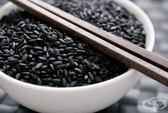 Черен ориз - изображение