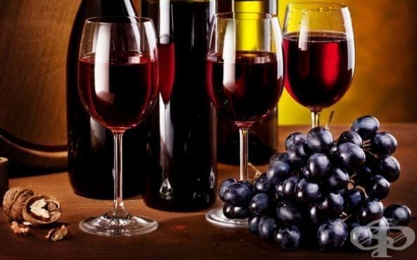 Червено вино - изображение