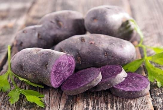 Лилави картофи - състав и полезни свойства - изображение