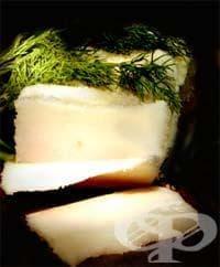 Разтопена овча или говежда мазнина (лой) - изображение