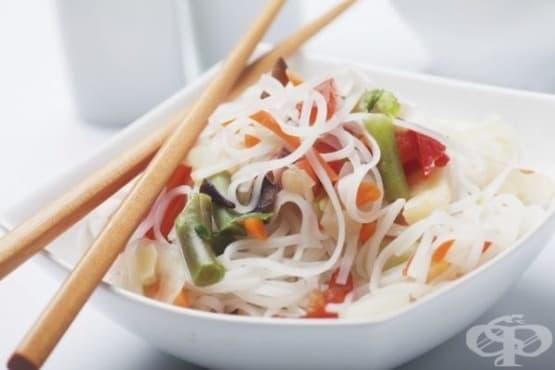 Оризови спагети - изображение