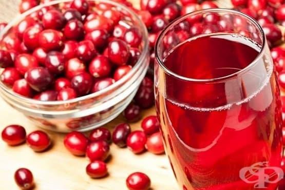 Сок от червена боровинка - изображение