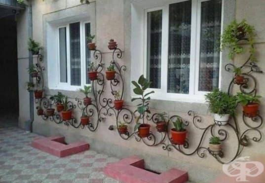 20 страхотни идеи за цветарник във вашия дом и градина - изображение