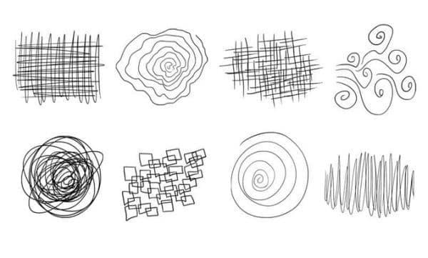 Изберете модел на несъзнателна рисунка и ние ще познаем емоционалното ви състояние - изображение