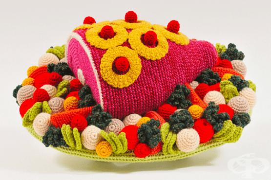20 снимки на сложни ястия, направени от вълна - изображение