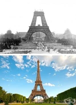 15 снимки на известни архитектурни структури в процеса на тяхното изграждане и днес - изображение