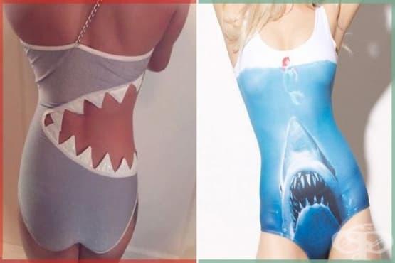 20 от най-странните бански костюми, които ще съберат погледите на плажа - изображение