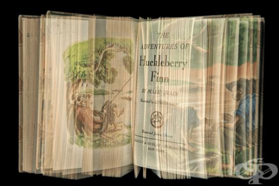 Книги с множество цветни експозиции доставят удоволствие от четенето - изображение