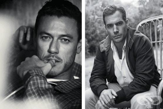 15 черно-бели снимки на актьори, които ще ви разгорещят - изображение
