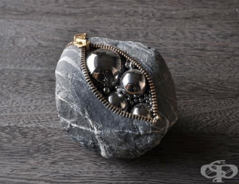 Японски художник създава невероятни каменни скулптури, които не се поддават на законите на физиката - изображение