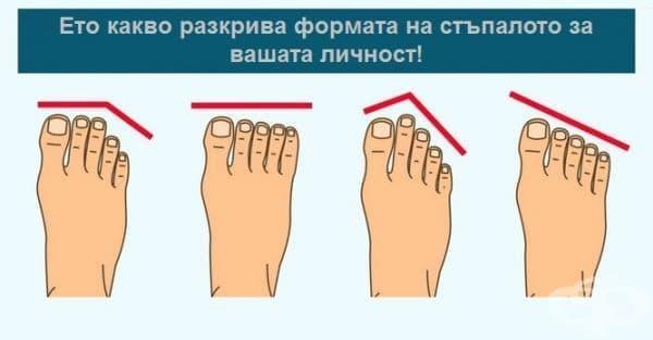 Формата на стъпалата разкрива много за вашия характер   - изображение