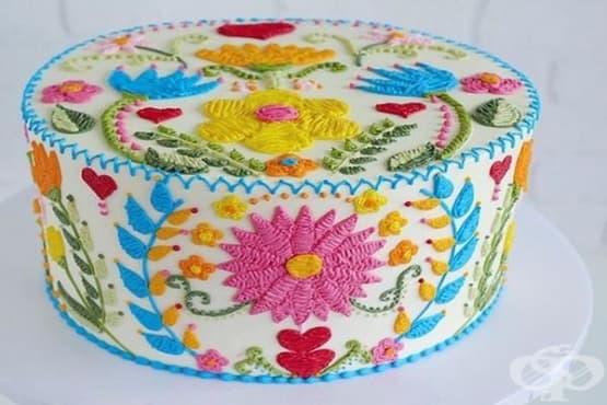 Невероятни торти или бродерия?  - изображение