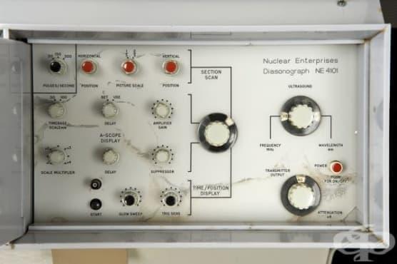 Ултразвуков скенер от 1961 година - изображение