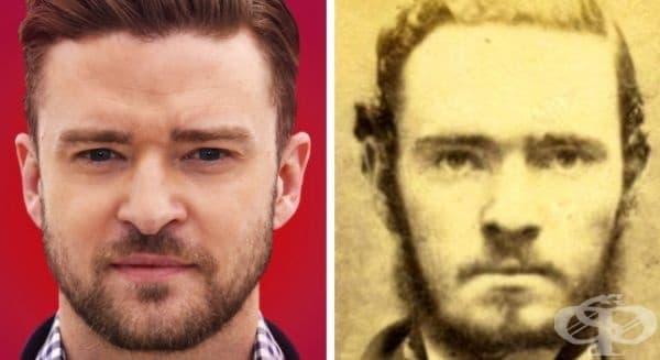 20 снимки на знаменитости и хора от миналото, които могат да ви накарат да повярвате в прераждането - изображение