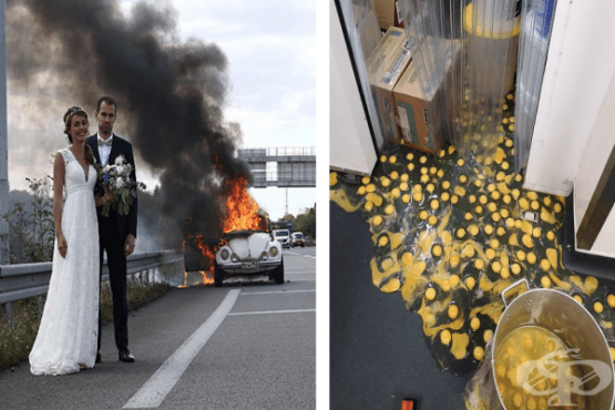 20 снимки показват, че всеки човек има и катастрофални дни - изображение