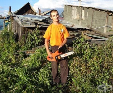 Един най-обикновен ден за Владимир, който е на 30 години и живее на село... - изображение
